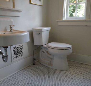 Vintage bathroom remodel